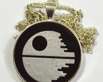 Star Wars Death Star Resin Pendant