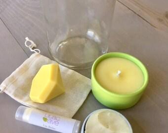 Medium Spa in a Jar, Orange Essential Oil, All Natural Spa Goodness in a Jar