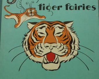 Vintage Fairy Tale Jaglon and the Tiger Fairies by L. Frank Baum