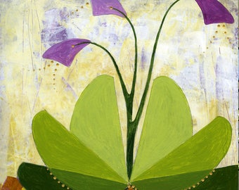 Cool Breeze- Original Acrylic Painting by Roberta Warshaw