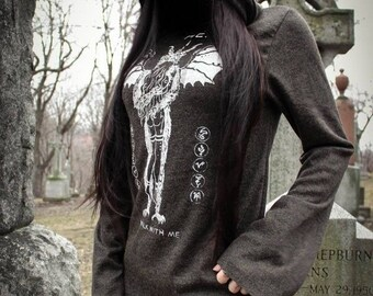 Toxic Vision Hoodie - NEW - HE Cloak - Size XS - Punk Hoodie - Metal Hoodie - Punk Shirt - Metal Shirt - Occult Clothing - Metal Jacket