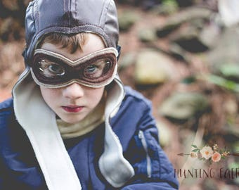 Amelia Earhart WWII Fighter Pilot Scully Cap pretend play make believe