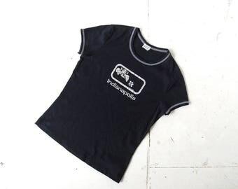 Indianapolis 500 T-Shirt | 1970s T Shirt | Car Racing TShirt | XS S
