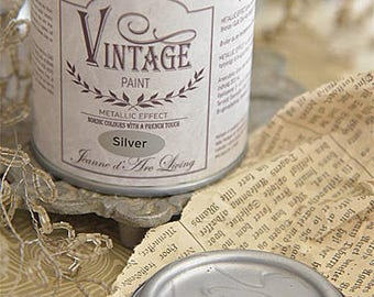 Chalk Paint Metallic Silver