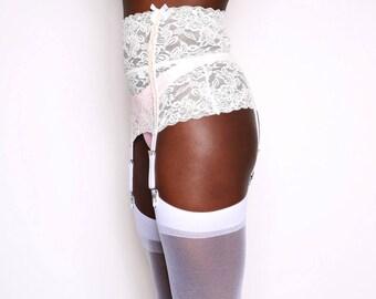 Bridal Lace Garter Lingerie
