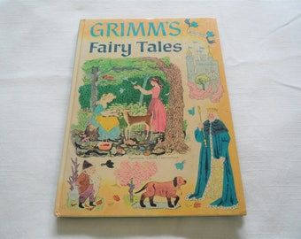 Grimm's Fairy Tale By Rose Dobbs Random House Hardcover 1955
