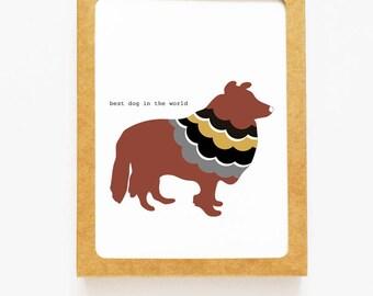 Shetland Sheepdog Boxed Notes