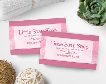 Soap Labels - Watercolor Soap Labels - Soap Packaging - Soap Wrapper - Cosmetic Labels -  Printable Label Design - Product Labels - SW-10