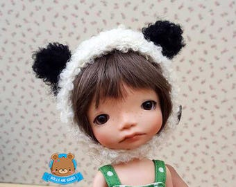 Panda bear helmet hat, Irrealdoll, Pukifee, Lati yellow, Mui chan, 5-6