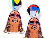 Stevie Wonderful Statement Earrings