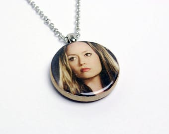 Upcycled Summer Glau Necklace in Silver - Firefly Necklace, River Necklace, Summer Glau Jewelry, Firefly Jewelry, Upcycled, One of a Kind
