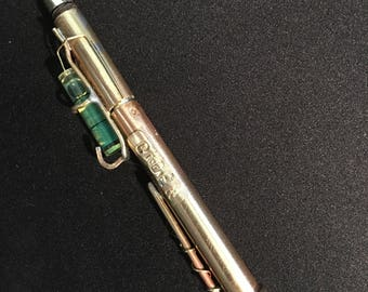 Parker Twist Bubble pen with bubble level msfr of sall brass