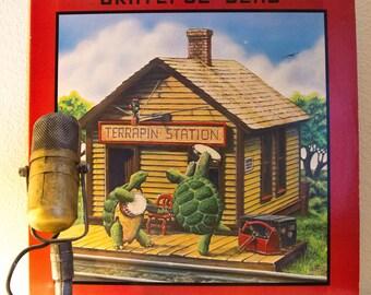 "ON SALE Grateful Dead Vinyl Record Album 1970s Jerry Garcia ""Terrapin Station"" (1977 Arista Records w/""Estimated Prophet"") Vintage Vinyl"