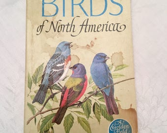 Golden Field Guide, Birds of North America, 1966