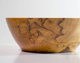Small Cherry Wood Bowl, 12.5cm Diameter