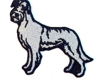 Irish Wolfhound Iron on Patch No Name
