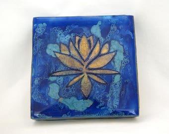 Lotus - Fluid Resin Art