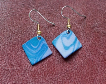 Assorted Blue and Sterling Silver Earrings