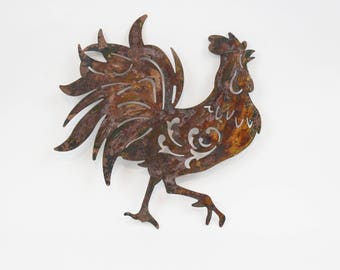 Exceptionnel Rooster Wall Art,Rustic Kitchen Sign,Farmhouse Rooster Decor,Rustic Kitchen  Decor,