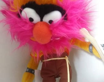 "ANIMAL the Drummer ""Muppets"" Plush NWT Authentic Disney Parks 12"""