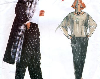 Vogue Individualist 1907 Sewing Pattern by Carol Horn for Misses' Coat, Pants and Top - Uncut - Size 14