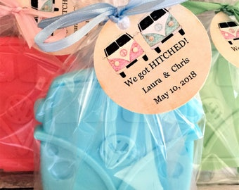Volkswagon Bus Soap Favors: Baby Shower Favors, Birthday favors, Wedding Favors, Bridal Shower Favors, Bus Favors, Volkswagon Bus