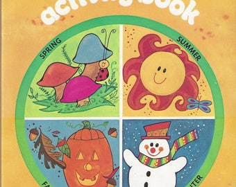Vintage Things to Do Activity Book, 1975