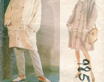 Sz  18/20/22 - Vogue 2621 - Misses' Coat, Skirt and Pants - Betty Jackson - Designer Original - Uncut
