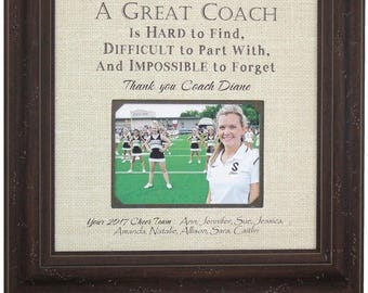Coach Gift, Basketball Coaches Gift, Soccer Coach, Baseball Coach, Cheer Coach, Volleyball Coach, Softball Coach, 16x16 Overall 5x7 Photo