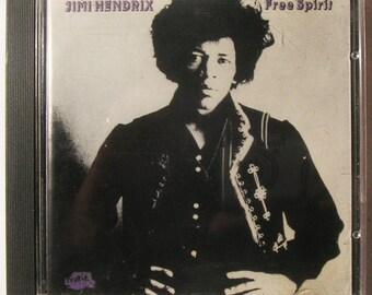 JIMI HENDRIX: Free Spirit CD - 1966 Studio Session - Early Blues and Rock