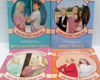 Sweet Valley Twins Books, Set of 4