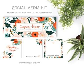 Vintage Floral LipSense - Social Media Kit