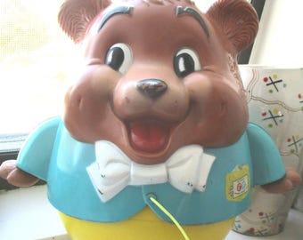 Vintage Fisher Price Chubby Cub #164, Pull Toy 1969