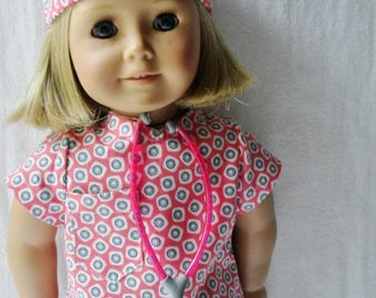 Surgical Scrubs for 18 Inch Dolls ~ Doctor, Nurse, Physician's Assistant, Dentist surgical scrubs