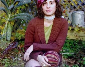 Knitting Pattern | French Girl Knits | VIOLETTE | Handknitting | Knit Hat | Kristeen Griffin-Grimes | Rowan Big Wool