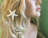 Mermaid Inspired Arctic White Petite 'SPARKLEFISH' Hairclip