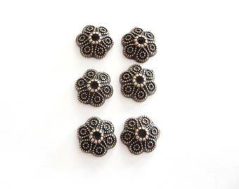 Copper Bead Caps,Bead Caps, , Jewelry Making, Beading, Supplies ,10mm Copper Bead Caps