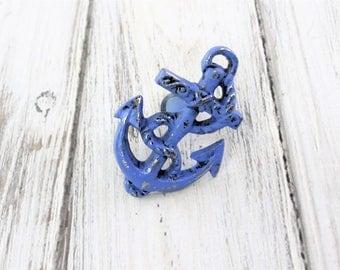 Anchor Knob, Nautical Drawer Pull, Drawer Pulls, Cabinet Knobs,  Dresser Knobs, Coastal Knobs, Nautical Knob, Nautical Pulls, Beach Decor