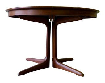ROSEWOOD Mid Century Modern DINING TABLE for Rosengaarden by Erik Buck