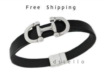 Snaffle bit bracelet, Horse lover bracelet, Equestrian jewelry bracelet, Horse bit, Custom mens bracelet, Women's bracelet, Unisex gift