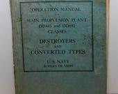 US Navy Operations Manual...