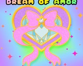 PRE-ORDER Dream Of Amor | Shojo Kawaii Gold Plated Hard Enamel Pin