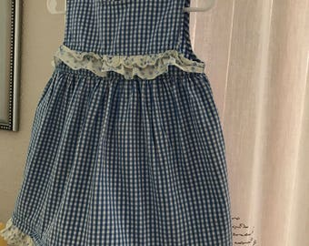 Vintage Baby Gingham dress by George, 24 months