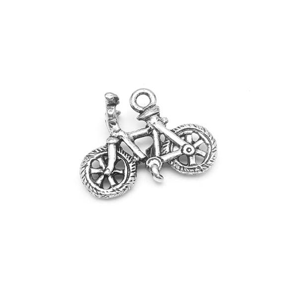 Bicycle Charm - Bike Jewelry - Cycling Charm - Spinning - Cyclists - Nickel Free - Sports - Hypoallergenic Jewelry for Bike Riders