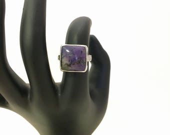 Tiffany Stone Gemstone and Sterling Silver Cocktail Statement Ring - One of a Kind