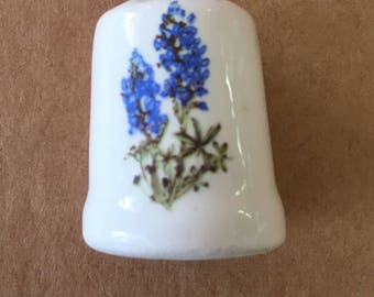 Collectible Thimble Hyacinth Flowers
