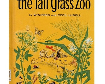 The Tall Grass Zoo, childrens insect book, childrens bug book, backyard bugs, childrens nature book, preschool science, backyard animals