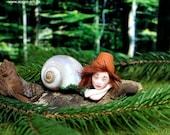 "Cute little ""Snail Kid"" - Handmade"