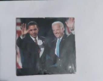 Obama and biden magnet