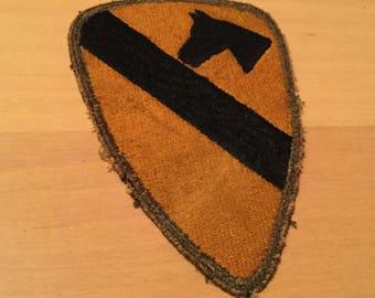 Original WW2 U.S. Army 1st Cavalry Division Patch